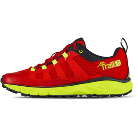 Salming Trail 5 Shoes Dame poppy red/safety yellow